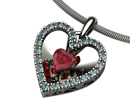 the Piece of my Heart Pendant