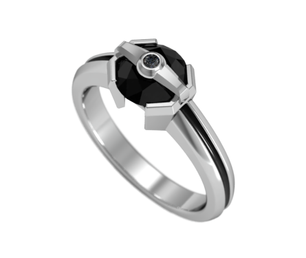 TIE Engagement Ring