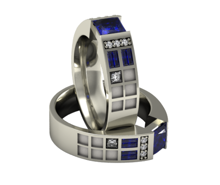 The Original Police Box Ring