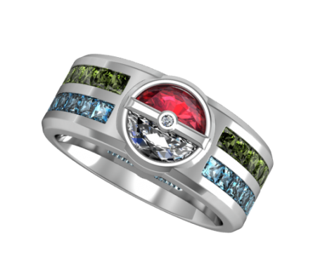 Mens Trainer's Ring