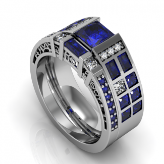 Police Box Companion Ring